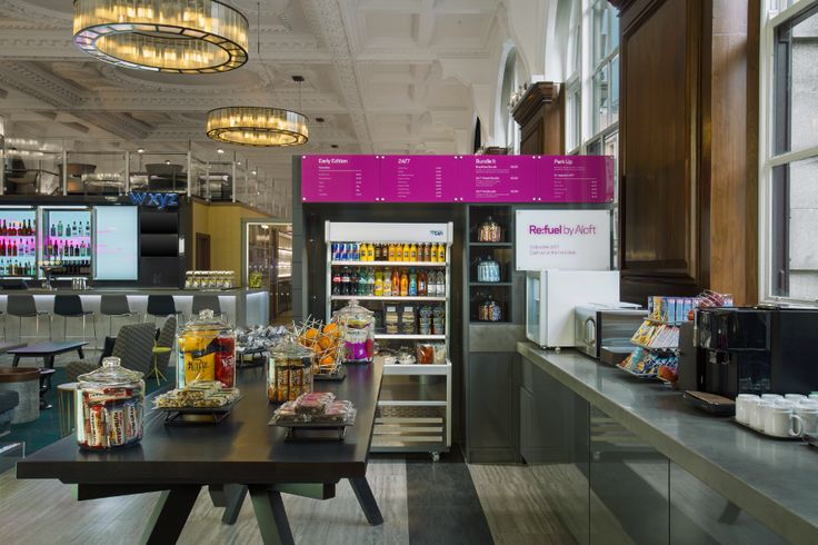 The Aloft Liverpool Hotel threw a launch party celebrate its opening -- take a look at the new property!