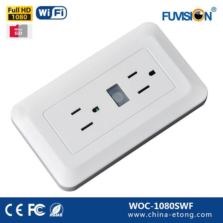 wireless hd hidden camera wall outlet voice recorder wifi ip cctv camera hidden spy cam
