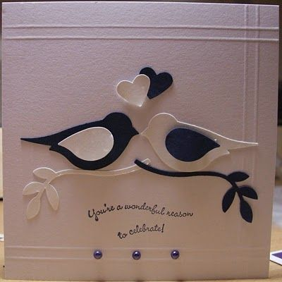 two step bird punch.  Check out this website to see how the beautiful cards