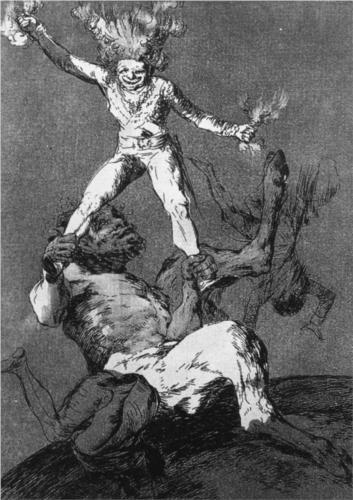 Rise and Fall - Francisco Goya