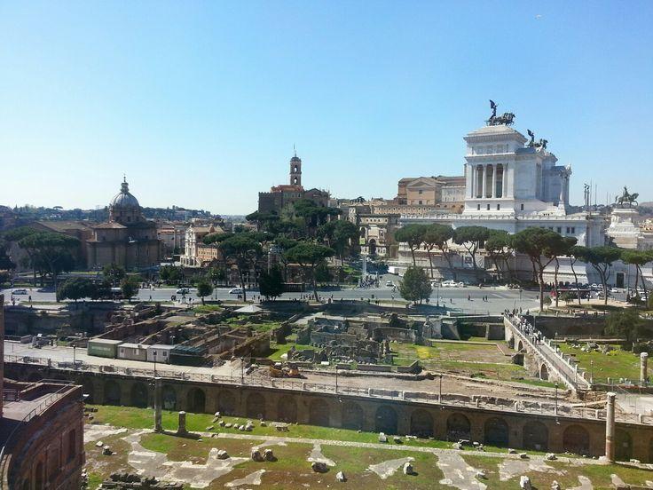 Vista dai Mercati di Traiano
