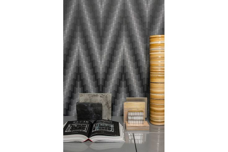 Elodie Blanchard / HBF Textiles Winter 2016 Collection - Peak wall panel