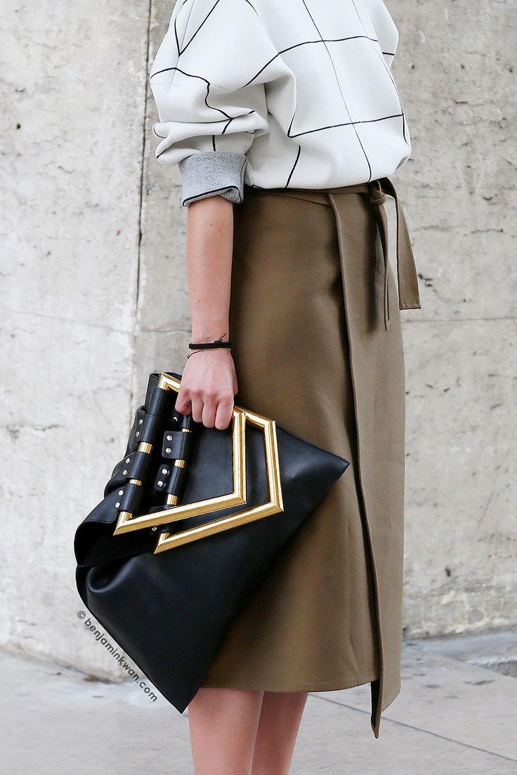 Irina Lakicevic at Rochas SS 2015 Paris Snapped by Benjamin Kwan Paris Fashion Week