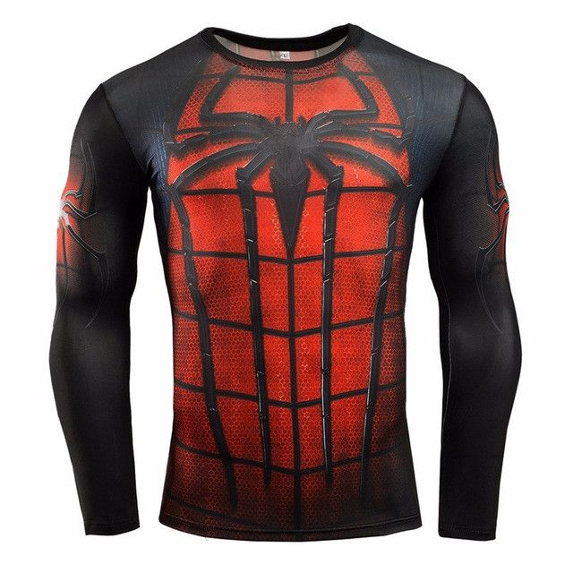Men's Fitness Compression Shirt Multiple Styles