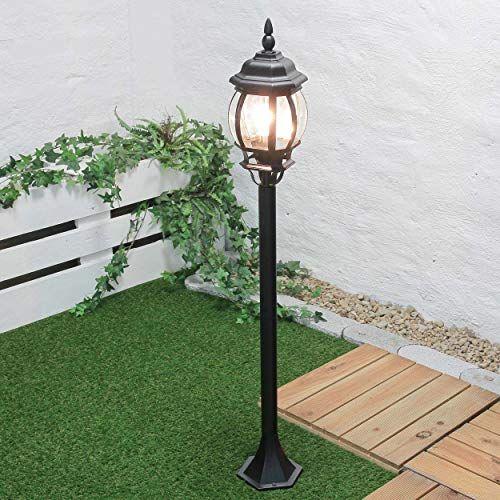 Lampe D Exterieur Brest En Noir E27 Jusqu Ip43 Lampe D Exterieur Sur Pied Sur Pied Pour Eclairage De Jardin Naruzhnye Lampy Fonarnye Stolby
