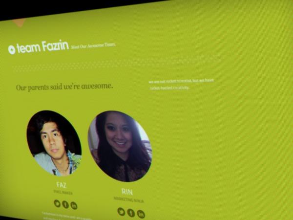 Fazrin visual identity by fazrin , via Behance  #marketing #design #digital #web