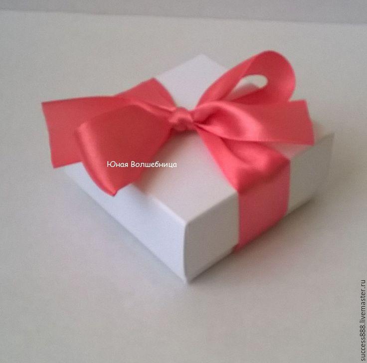 Купить Бонбоньерка белая - подарочная упаковка - белый, бонбоньерка, бонбоньерки на свадьбу, бонбоньерки, свадебные аксессуары