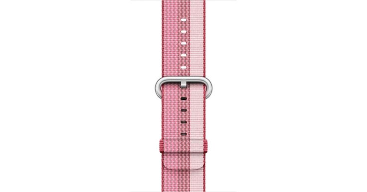 Personalize your Apple Watch with a 38mm Berry Woven Nylon band for a comfortable, fabric-like feel. Buy now with fast, free shipping.