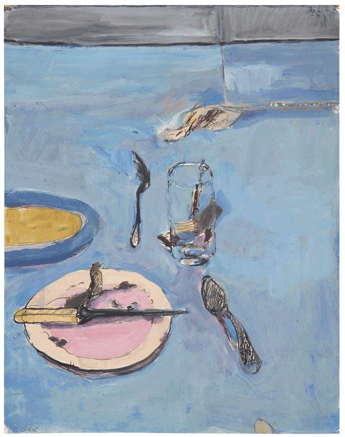 Richard Diebenkorn (1922-1993гг). - Музей рисунка