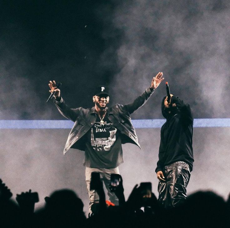 Bryson and King Kendrick! TTST