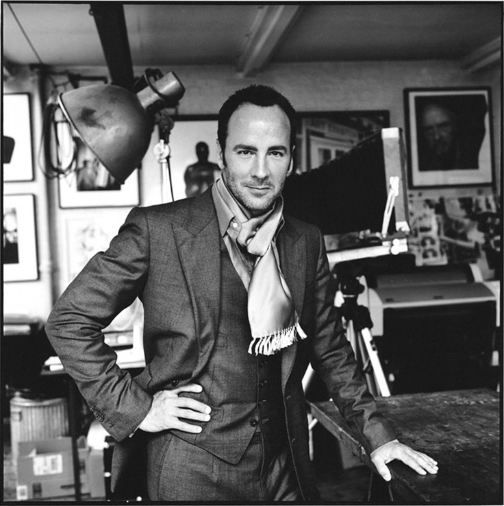 David Bailey photographs Tom Ford