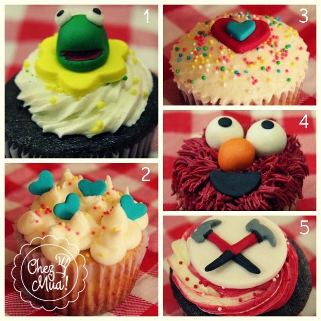 ¡Vuelve el TOP 5 MÁS pedidos! ¡1,2,3,4 o 5 escoge tu favorito!  #cupcakes #repostería #pâtisserie #calico #Top5