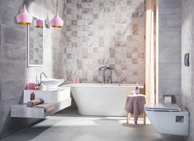 Łazienka w pastelowej tonacji :)  dla tych, którzy lubią niestandardowe  aranżacje #bathroom #bathroomdesign #interiordesign #pastel #pastelpink #inspiracje #inspiration #lazienka #wnętrza #pink #obipolska #obibowarto