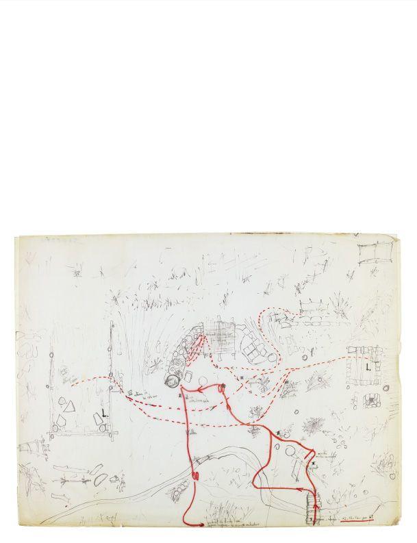 Fernand Deligny Lignes d'Erre, 1976