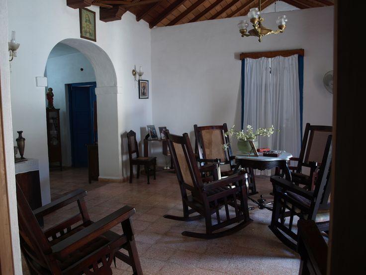 Salón de la casona colonial. Trinidad Cuba