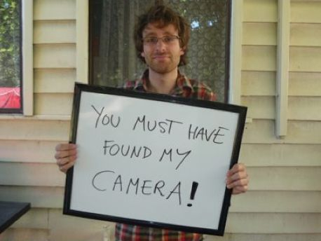 A Pictorial Guide to Avoiding Camera Loss by Andrew McDonaldPhotos, Contact Info, Things Photography, Lost Cameras, Pictorial Guide, Funny Stuff, Hilarious, Great Ideas, Photography Inspiration