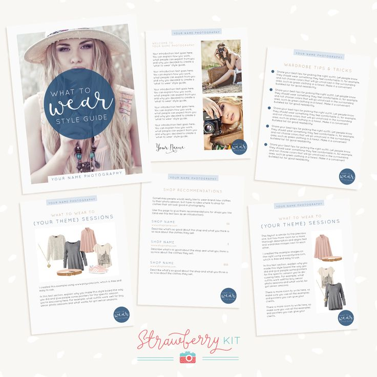 1525 best Photography Design Templates images on Pinterest - guide templates