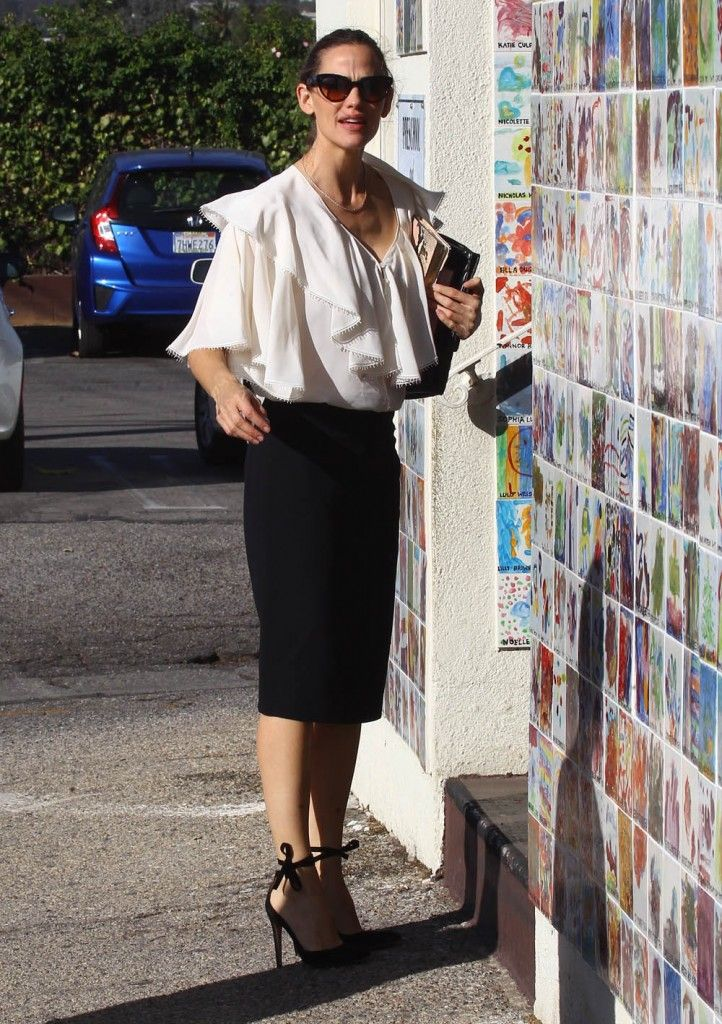 Jennifer Garner takes her children to church with ex-husband Ben Affleck's mother Christine