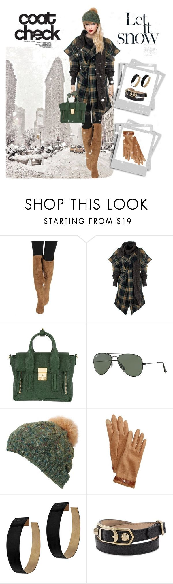 """""""Senza titolo #1295"""" by manueladimauro ❤ liked on Polyvore featuring Polo Ralph Lauren, Vivienne Westwood Anglomania, 3.1 Phillip Lim, Ray-Ban, Lauren Ralph Lauren, Zimmermann, Balenciaga and statementcoats"""