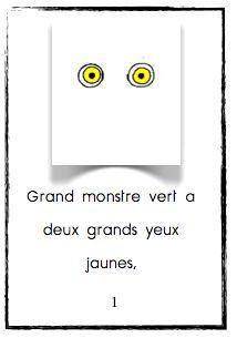 Premier niveau : L'enfant place les images correspondantes à chaque page du petit livre.