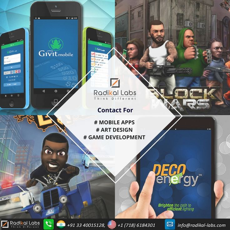 We are Radikal Labs, specialize in Web, mobile app & game development. We provide a wonderful gaming experience for all users. Check our portfolio page: http://www.radikal-labs.com/portfolio
