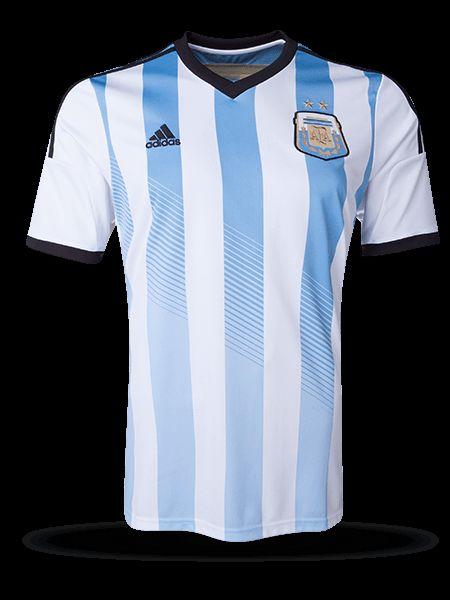 Camiseta de local de Argentina 2014
