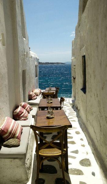 Mykonos Town, the nicest street
