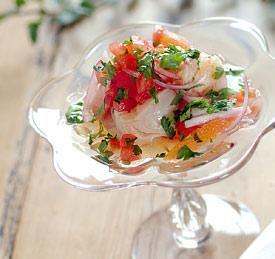 Mahi Mahi and Shrimp Ceviche Recipe Image