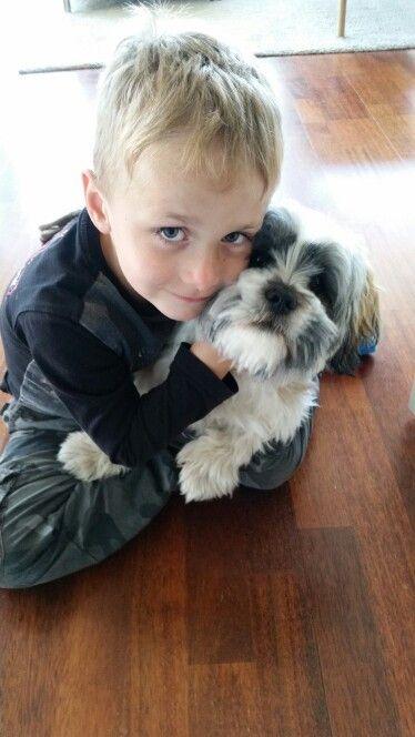Theodor and dennis (dog)
