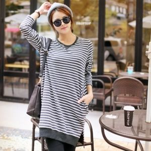 Republic of Korea reigning Women's Clothing Store [CANMART] However Shibori dress T / Size : FREE / Price : 28.83 USD #korea #fashion #style #fashionshop #apperal #koreashop #missy #canmart #top #tee #longT