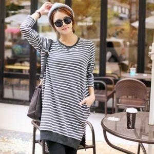 Republic of Korea reigning Women's Clothing Store [CANMART] However Shibori dress T / Size : FREE / Price : 28.83 USD #korea #fashion #style #fashionshop #apperal #koreashop #missy #canmart #top #tee #longT