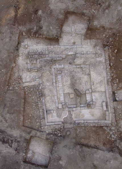 The synagogue, dated to the 2nd Temple period (50BC - 100AD) is one of the oldest ever found, and was unearthed at Migdal, Israel. Archaeologists were particularly excited by the discovery of a large carved stone depicting the menorah -- a seven-branched candelabrum -- from the  Second Temple which was destroyed in 70 AD during the Roman siege of Jerusalem.