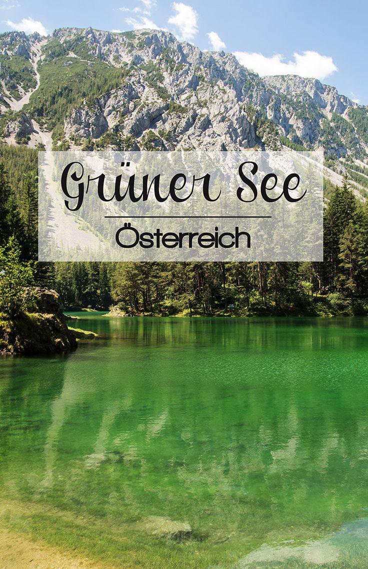 Grüner See in Tragöß im Juni – Picture Diary #grünersee #österreich #steiermark #tragöss #berge