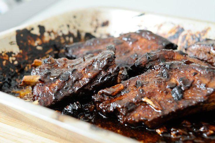 Chinese Marinated Pork Ribs Recipe+on+Chocolate+%26+Zucchini