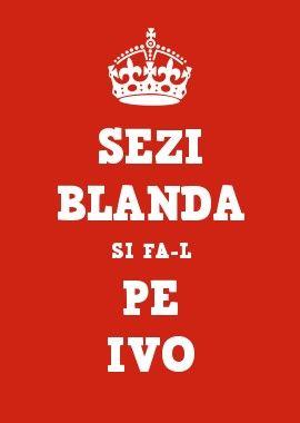 SEZI BLANDA SI FA-L PE IVO
