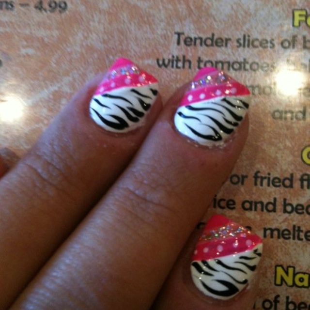 Nail Ideas For April: Best 25+ Zebra Nail Designs Ideas On Pinterest