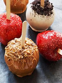 3 Delicious Candy Apples