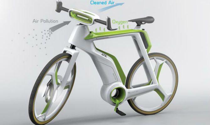 Bike do futuro é capaz de fazer fotossíntese  - Divulgação