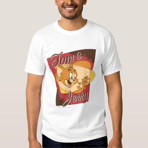 Logotipo 2 de Tom y Jerry. Regalos, Gifts. #camiseta #tshirt
