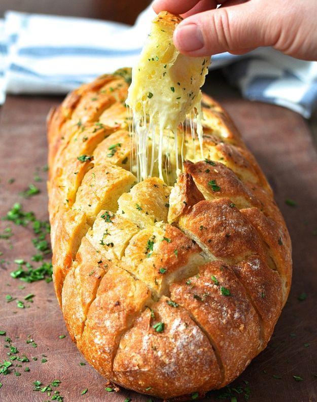 garlic pull apart bread recipe