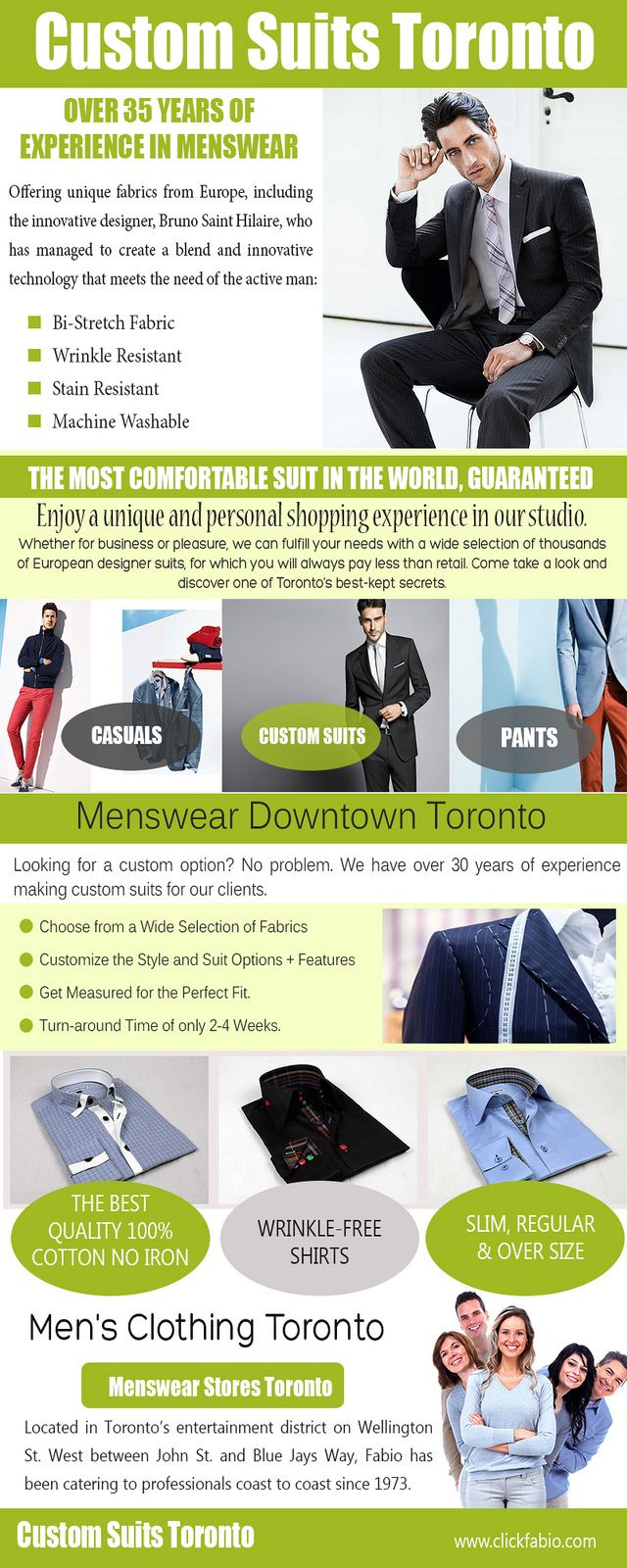 https://flic.kr/p/UsvBPY   Menswear Downtown Toronto   Classic fit shirts for men are the traditional men's shirts. One can find Menswear Downtown Toronto in almost every departmental store. These shirts do not contain any tapering. These shirts are preferred by people with strong built or if they have a little more fat. If you are not as attractively fit with your body, these shirts will provide you better look. One can use these shirts at all formal places including offices and business…