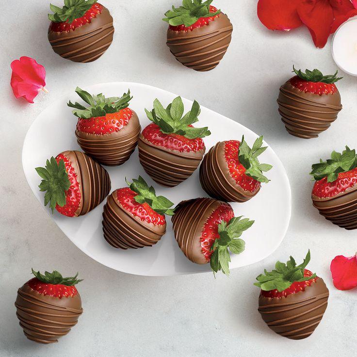 Milk Chocolate Dipped Strawberries (One Dozen)