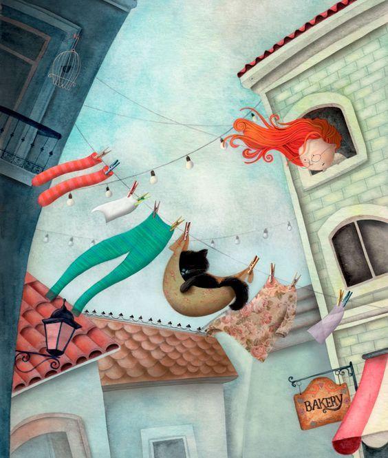 Vorrei dormire come un gatto con tutti i peli del tempo, con la lingua di pietra focaia, con il sesso secco del fuoco e, non parlando con nessuno, stendermi sopra tutto il mondo, sopra le tegole e la terra, intensamente consacrato a cacciare i topi in sogno. _ Pablo Neruda _ Viviana Garofoli Art.