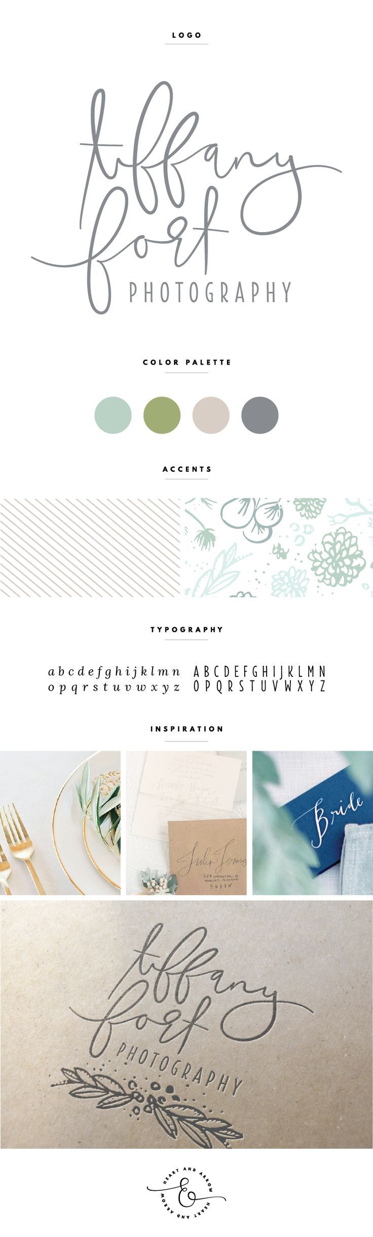 Earthy and organic brand design  |  by Heart & Arrow