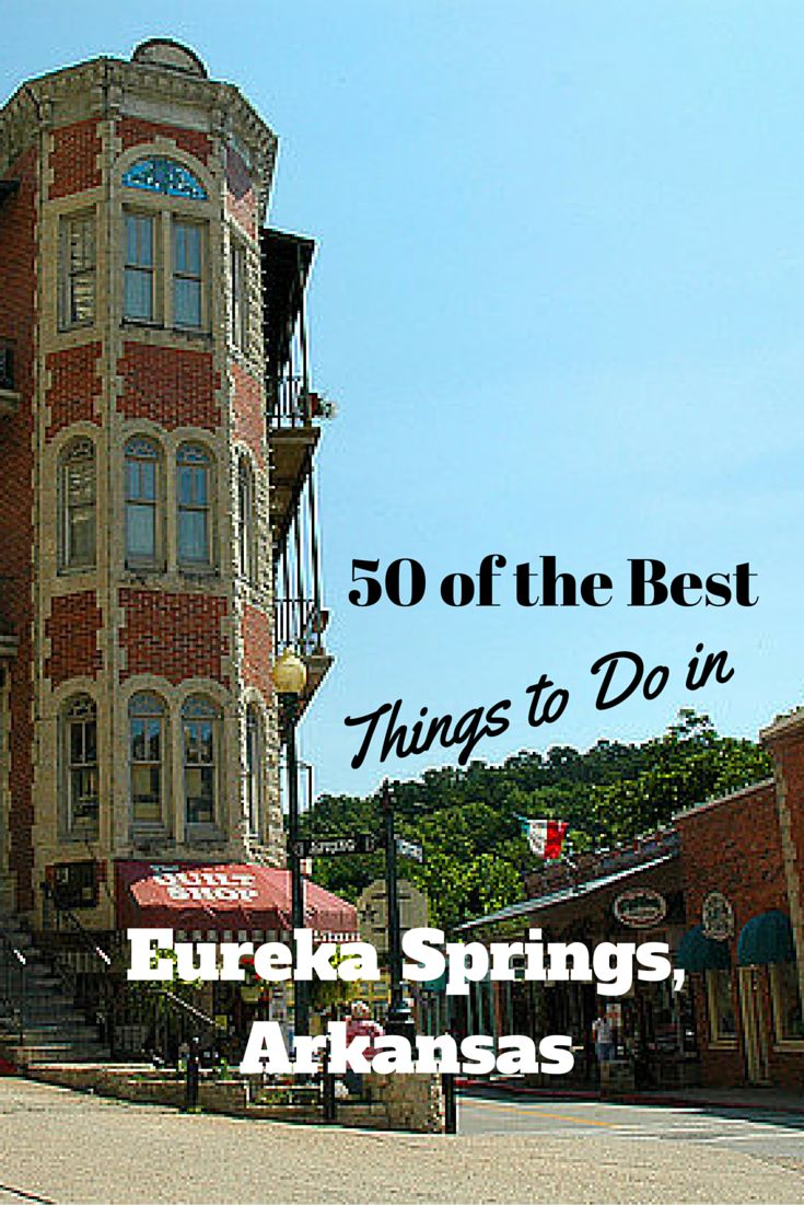 There are so many things to do in Eureka Springs, where to start? Visit our list of the 50 best Eureka Springs attractions and things to do here and start planning your visit!