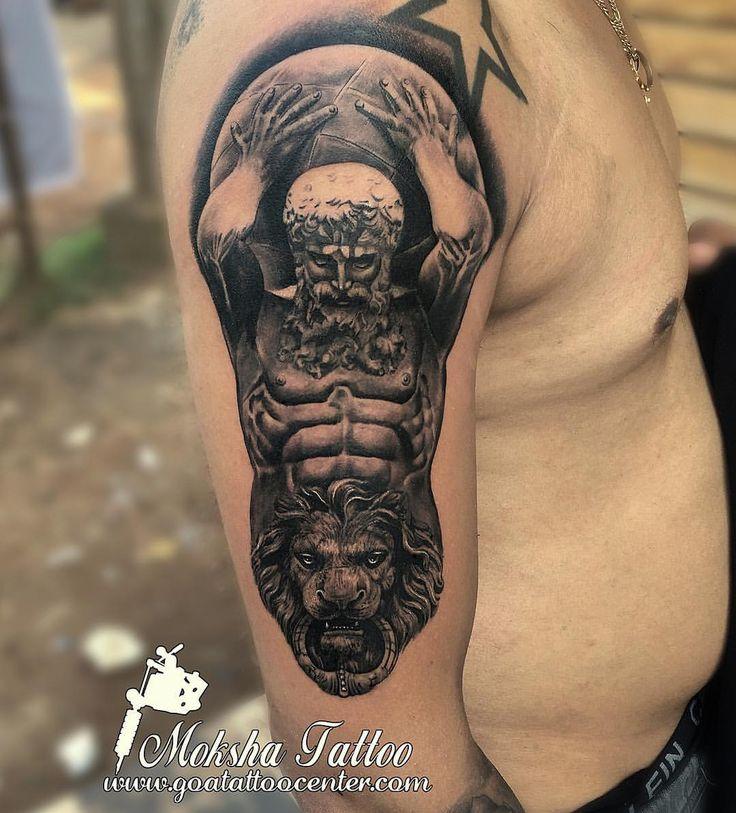 54 best tattoo done by mukesh waghela at moksha tattoo for Greek sculpture tattoo