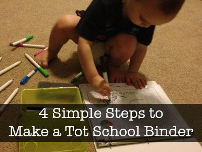 4-Simple-Steps-to-Make-a-Tot-School-BinderCrayola Dry, Binder, Mornings Time, Erase Crayons, Schools, Big Kids, Classroom Blog, Homeschool Classroom, Dry Erase