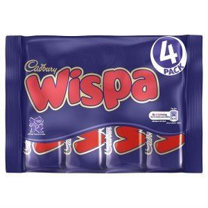 Cadbury Wispa Bars - UK Chocolate
