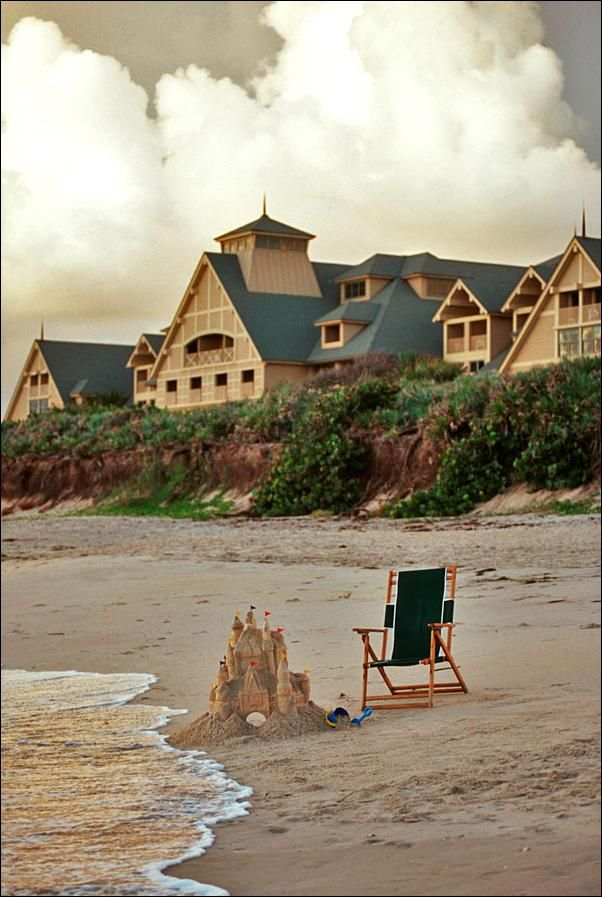 Disney's Vero Beach Resort sandcastle. http://www.1923mainstreet.com
