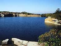 Quarry in Dogtown.